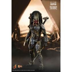 Alien vs. Predator Requiem Hot Toys Movie Masterpiece Actionfigur 1/6 Wolf Predator (Heavy Weaponry) (35 cm)