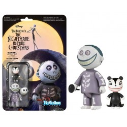 Nightmare Before Christmas ReAction Actionfigur Barrel (10 cm)