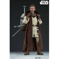 Star Wars Mythos Sideshow Collectibles 1/6 Actionfigur Obi-Wan Kenobi (30 cm)