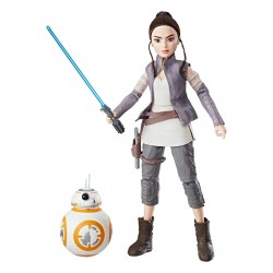 Star Wars Forces of Destiny Actionfigur Rey & BB-8 (28 cm)