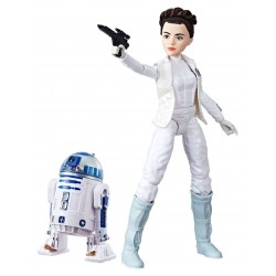 Star Wars Forces of Destiny Actionfigur Princess Leia Organa & R2-D2 (28 cm)