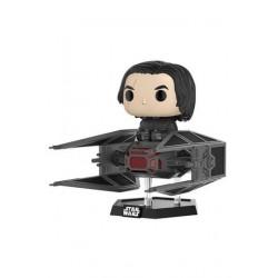 Star Wars Episode VIII Funko POP! Vinyl Wackelkopf-Figur Kylo Ren with Tie Fighter (15 cm)