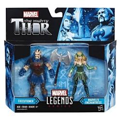 "Marvel Legends Doppelpack Enchantress & Executioner (Classic Thor) 3.75"" (10 cm)"