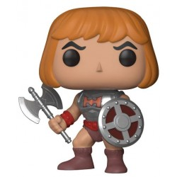 Masters of the Universe POP! Television Vinyl Figur Battle Armor He-Man (10 cm)