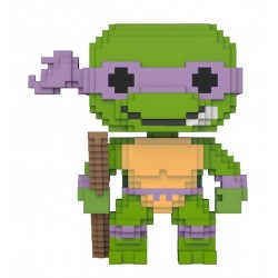 Teenage Mutant Ninja Turtles 8-Bit POP! Vinyl Figur Donatello (10 cm)