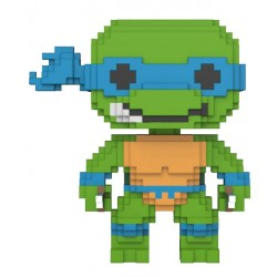 Teenage Mutant Ninja Turtles 8-Bit POP! Vinyl Figur Leonardo (10 cm)