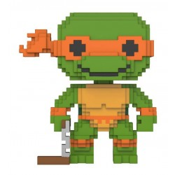 Teenage Mutant Ninja Turtles 8-Bit POP! Vinyl Figur Michelangelo (10 cm)