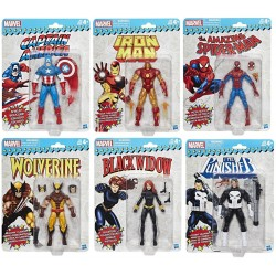 "Marvel Legends 'Super Heroes Vintage Style' Series 01 Set mit 6 Figuren 6"" (15 cm)"