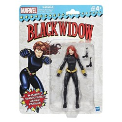 "Marvel Legends 'Super Heroes Vintage Style' Series 01 Actionfigur Black Widow 6"" (15 cm)"