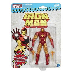 "Marvel Legends 'Super Heroes Vintage Style' Series 01 Actionfigur Iron Man 6"" (15 cm)"