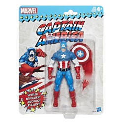"Marvel Legends 'Super Heroes Vintage Style' Series 01 Actionfigur Captain America 6"" (15 cm)"