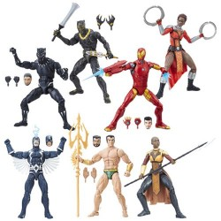 "Marvel Legends Series 01 'Black Panther' Set mit 6 Figuren 6"" (15 cm)"