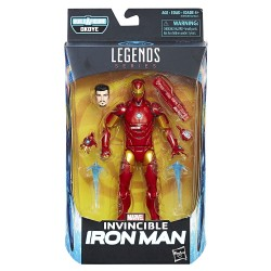 "Marvel Legends Series 01 'Black Panther' Actionfigur Invincible Iron Man 6"" (15 cm)"