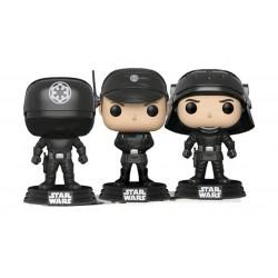 Star Wars POP! Vinyl Wackelkopf-Figuren 3er-Pack Gunner, Officer & Trooper (10 cm)