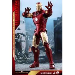 Marvel Hot Toys Iron Man QS Series 1/4 Iron Man Mark III (48 cm)