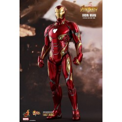 Marvel Hot Toys The Avengers Infinity War Movie Masterpiece Diecast Actionfigur 1/6 Iron Man (32 cm)