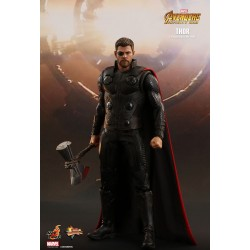 Marvel Hot Toys The Avengers Infinity War Movie Masterpiece Actionfigur 1/6 Thor (32 cm)