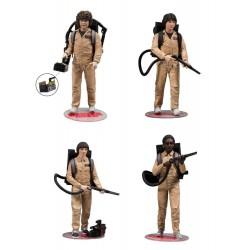Stranger Things Actionfiguren 4er-Pack Ghostbusters (15 cm)