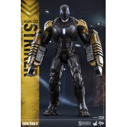 Marvel Hot Toys Iron Man 3 Movie Masterpiece 1/6 Iron Man Mark XXV Striker (30 cm)