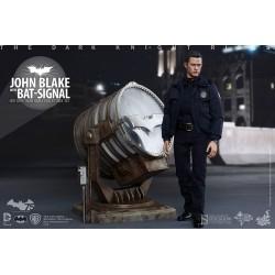 Hot Toys 1/6 The Dark Knight Rises Movie Masterpiece John Blake with Bat-Signal Figuren (30 cm)