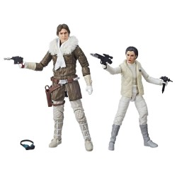 Star Wars Episode V Black Series Actionfiguren Doppelpack 2018 Leia & Han (Hoth) (Convention Exclusive) (15 cm)