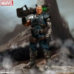 Marvel Universe Actionfigur mit Leuchtfunktion One:12 Cable (17 cm)
