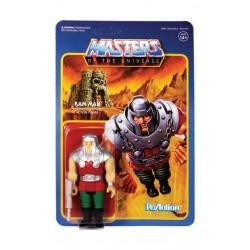 Masters of the Universe ReAction Actionfigur Wave 4 Ram Man (10 cm)