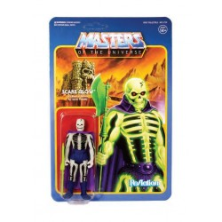 Masters of the Universe ReAction Actionfigur Wave 4 Scare Glow (10 cm)
