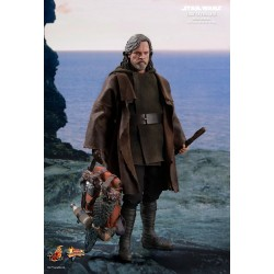 Star Wars Episode VIII Hot Toys 1/6 Movie Masterpiece Actionfigur Luke Skywalker (Deluxe Version) (29 cm)