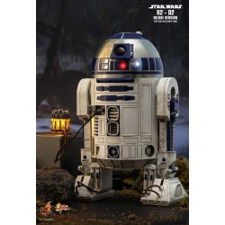 Star Wars Hot Toys 1/6 Movie Masterpiece Actionfigur R2-D2 (Deluxe Version) (18 cm)