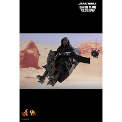 Star Wars Episode I DX Series Actionfigur 1/6 Darth Maul & Sith Speeder (29 cm)