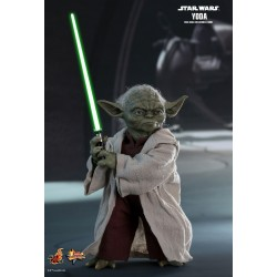 Star Wars Episode II Movie Masterpiece Actionfigur 1/6 Yoda (14 cm)