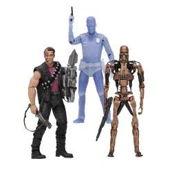 Neca Terminator 2 Kenner Tribute Actionfiguren Sortiment mit 3 Figuren (18 cm)