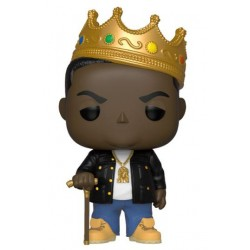 Notorious B.I.G. POP! Rocks Vinyl Figur Notorious B.I.G. with Crown (10 cm)