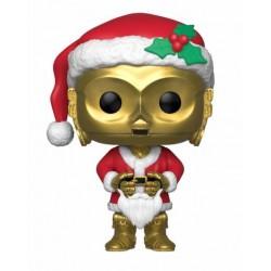 Star Wars POP! Vinyl Wackelkopf-Figur Holiday Santa C-3PO (10 cm)