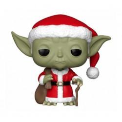 Star Wars POP! Vinyl Wackelkopf-Figur Holiday Santa Yoda (10 cm)