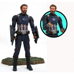 Marvel Select Avengers Infinity War Marvel Select Actionfigur Captain America (18 cm)