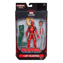 """Marvel Legends Series 02 'Deadpool' Actionfigur Lady Deadpool 6"""" (15 cm)"""