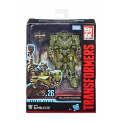 Transformers Studio Series 2019 Wave 1 Deluxe Class Actionfigur WWII Bumblebee (Transformers: The Last Knight) (11 cm)