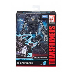 Transformers Studio Series 2019 Wave 1 Deluxe Class Actionfigur Barricade (Transformers) (11 cm)