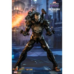 Marvel Hot Toys Future Fight Video Game Masterpiece Actionfigur 1/6 The Punisher War Machine Armor (32 cm)