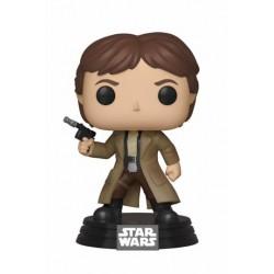 Star Wars POP! Vinyl Wackelkopf-Figur Endor Han Solo (10 cm)