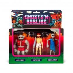 Ghosts 'n Goblins ReAction Actionfiguren 3er-Pack B (10 cm)