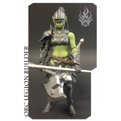 "Mythic Legions 'Advent of Decay' Orc (Legion Builder 2) 6"" (15 cm)"