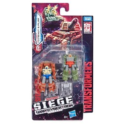 Transformers Generations War for Cybertron: Siege Micro Masters Wave 1 2019 Topshot & Flak