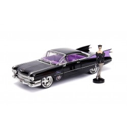 DC Bombshells Diecast Modell Hollywood Rides 1/24 1959 Cadillac Coupe DeVille mit Catwoman Figur