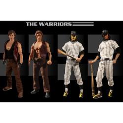 The Warriors Actionfiguren 1/12 Deluxe Box Set (17 cm)