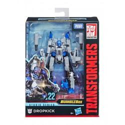 Transformers Studio Series 2018 Wave 4 Deluxe Class Actionfigur Dropkick (Bumblebee) (11 cm)