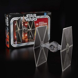 Star Wars Vintage Collection Fahrzeug Imperial TIE Fighter mit Tie Fighter Pilot Figur (Exclusive)