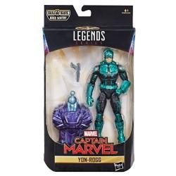 """Marvel Legends Series 01 'Captain Marvel' Actionfigur Yon-Rogg (Captain Marvel Movie) 6"""" (15 cm)"""